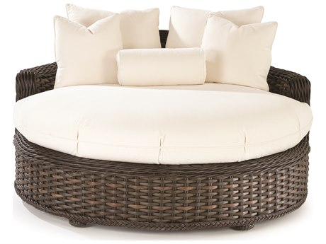 Lane Venture South Hampton Wicker Round Daybed