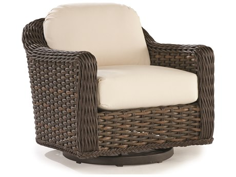 Lane Venture South Hampton Wicker Swivel Glider Lounge Chair