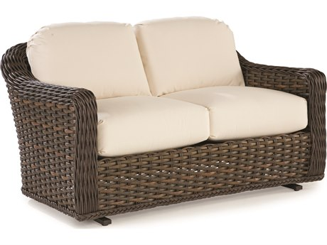 Lane Venture South Hampton Wicker Double Glider