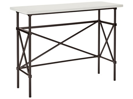 Lane Venture Langham Dark Bronze Aluminium 48''W x 18''D Rectangular Counter Bar / Console Table
