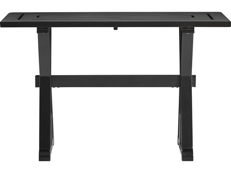 Lane Venture Sonoma Dark Bronze Aluminum 47''W x 18D Rectangular Console Table