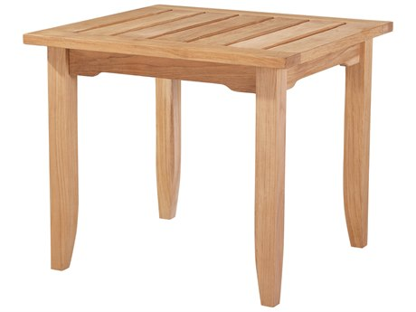 Lane Venture Edgewood Teak 26''W x 24''D Rectangular End Table