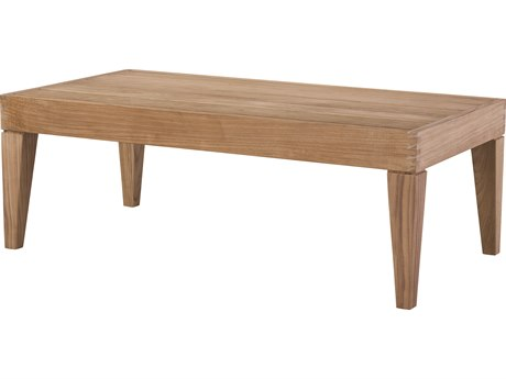 Lane Venture Saranac Teak 48''W x 25''D Rectangular Coffee Table