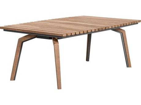 Lane Venture Cote dAzur Teak 49''W x 28''D Rectangular Coffee Table