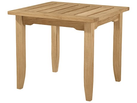 Lane Venture Aura Teak 26''W x 24''D Rectangular End Table