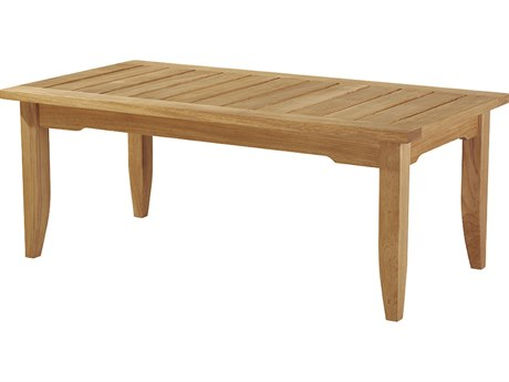 Lane Venture Aura Teak 43''W x 22''D Rectangular Coffee Table