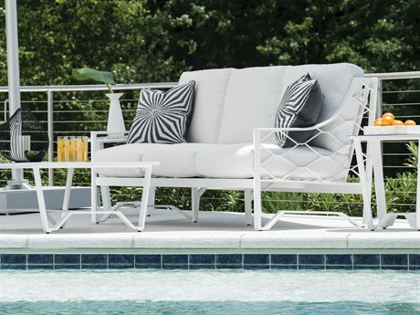 Lane Venture Biscayne Bay Aluminum Cushion Lounge Set