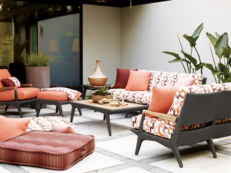 Lane Venture Cooper Wicker Lounge Set LAVCPRLNGSET1