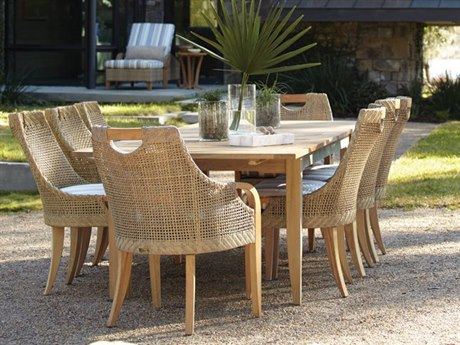 Lane Venture Edgewood Teak Dining Set