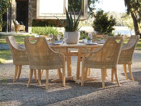 Lane Venture Edgewood Teak Dining Set
