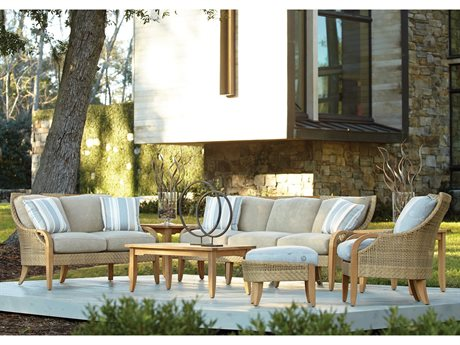 Lane Venture Edgewood Teak Lounge Set