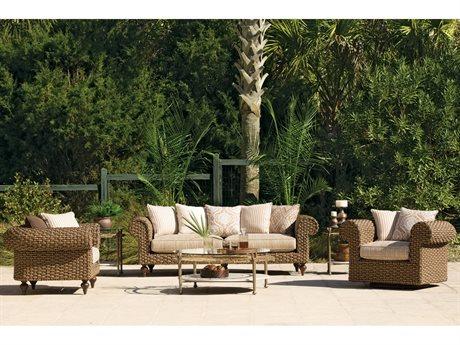 Lane Venture Hemingway Wicker Lounge Set LAVERNSTHWLNGSET2