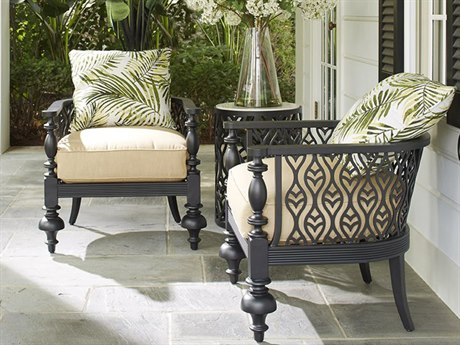 Lane Venture Hemingway Plantation Cast Aluminum Lounge Set