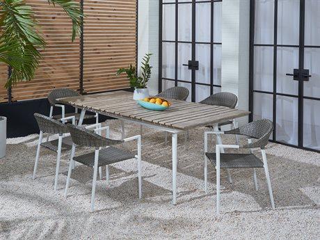 Lane Venture Essentials Aluminum Dining Set PatioLiving