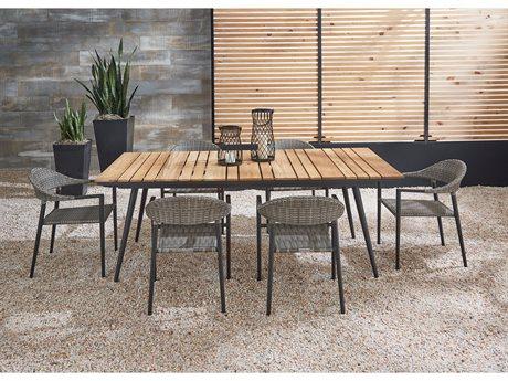 Lane Venture Essentials Aluminum Dining Set