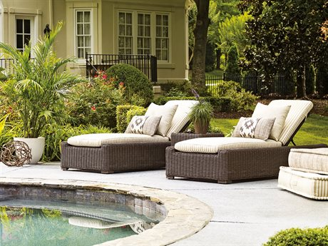 Lane Venture Fillmore Wicker Lounge Set
