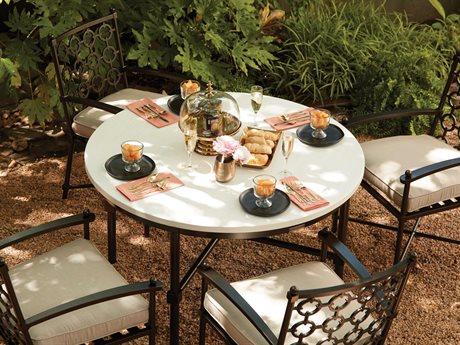 Lane Venture Langham Aluminum Dining Set PatioLiving