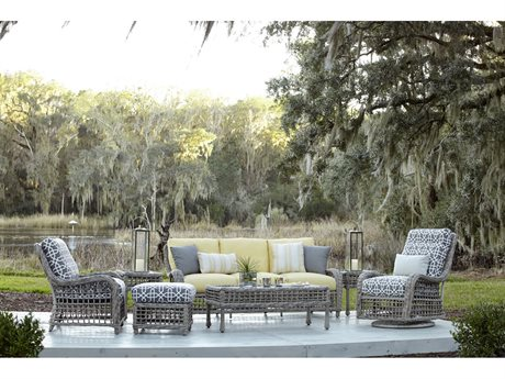 Lane Venture Moraya Bay Wicker Lounge Set
