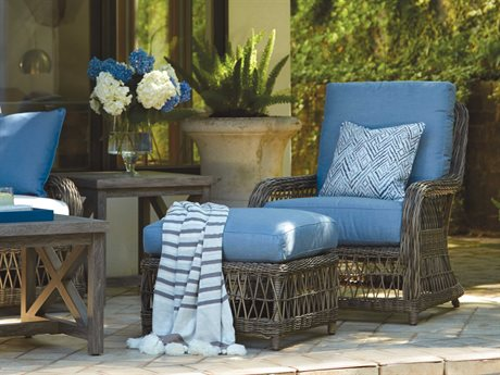 Lane Venture Mystic Harbor Wicker Lounge Set