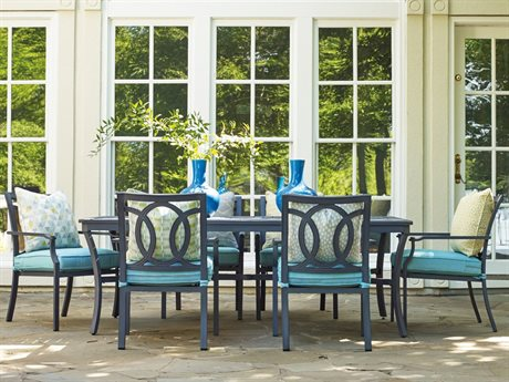 Lane Venture Raleigh Cast Aluminum Dining Set