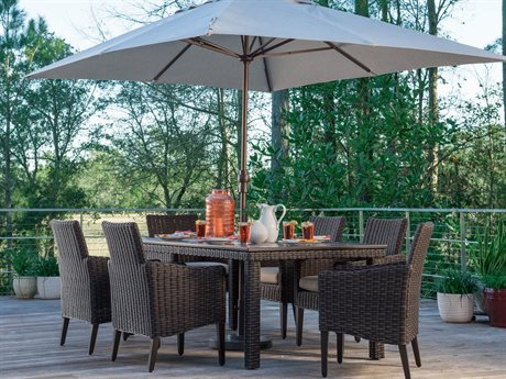 Lane Venture Requisite Wicker Dining Set