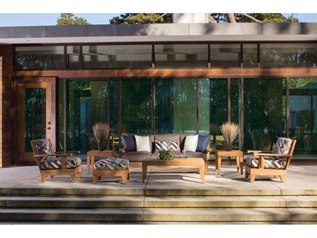 Lane Venture Saranac Teak Lounge Set