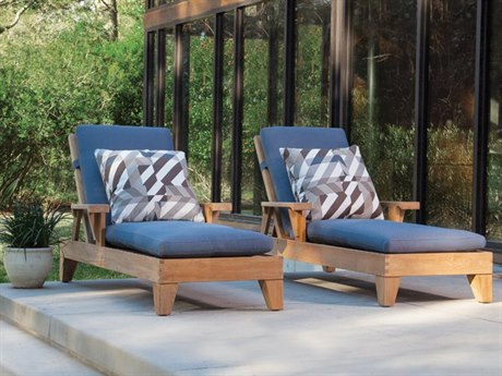 Lane Venture Saranac Teak Lounge Set
