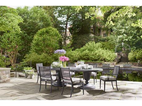 Lane Venture Winterthur Estate Aluminum Dining Set PatioLiving