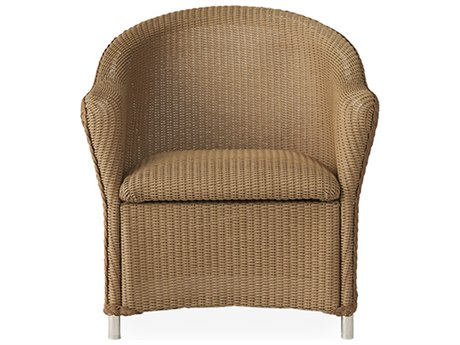 Lloyd Flanders Reflections Wicker Lounge Chair with Padded Seat