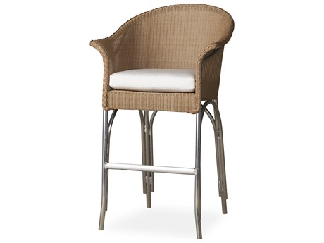 Lloyd Flanders All Seasons Wicker Bar Stool PatioLiving