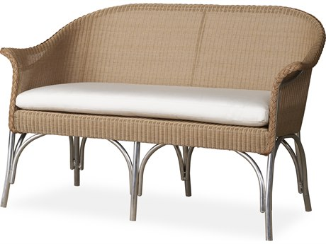 Lloyd Flanders All Seasons Wicker Loveseat PatioLiving