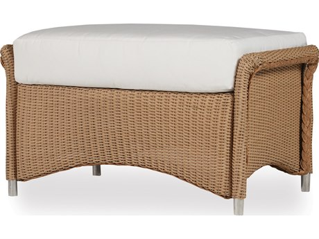 Lloyd Flanders Generations Wicker Ottoman
