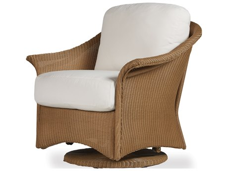 Lloyd Flanders Generations Wicker Lounge Swivel Glider