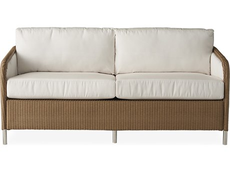 Lloyd Flanders Visions Wicker Sofa