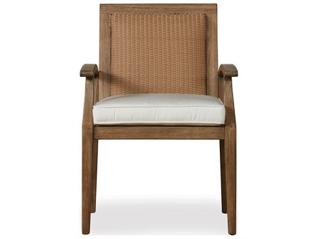 Lloyd Flanders Wildwood Teak Dining Chair LF135001