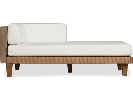 Lloyd Flanders Catalina Wicker Left Arm Chaise