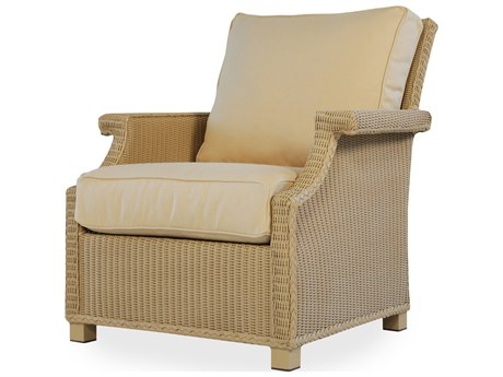 Lloyd Flanders Hamptons Wicker Lounge Chair