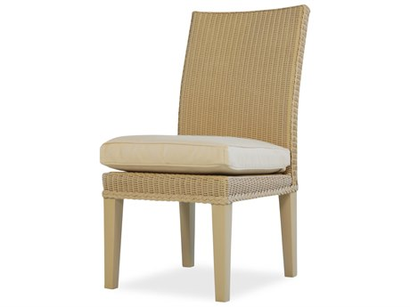 Lloyd Flanders Hamptons Wicker Side Dining Chair