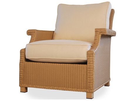 Lloyd Flanders Hamptons Wicker Deep Seating Lounge Chair