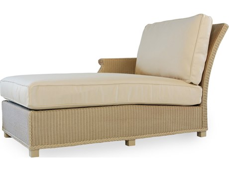 Lloyd Flanders Hamptons Wicker Right Arm Chaise