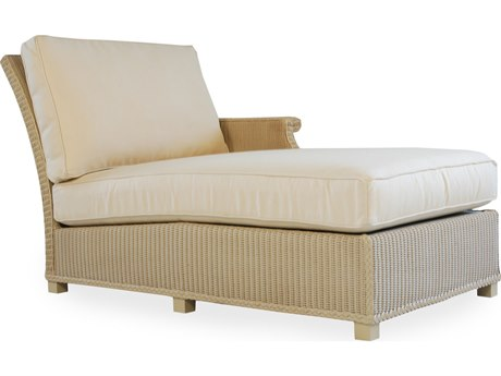 Lloyd Flanders Hamptons Wicker Left Arm Chaise