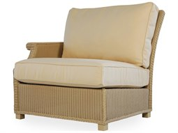 Lloyd Flanders Hamptons Wicker Right Arm Lounge Chair