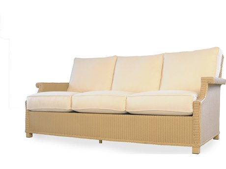 Lloyd Flanders Hamptons Wicker Deep Sofa