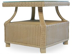 Lloyd Flanders Hamptons Wicker 22.5'' Square End Table
