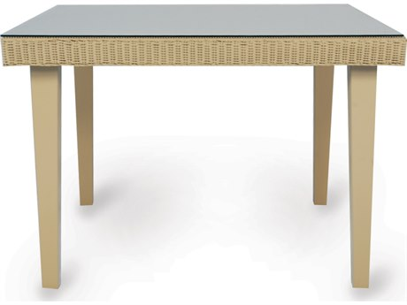 Lloyd Flanders Hamptons Wicker 42.5'' Square Dining Table