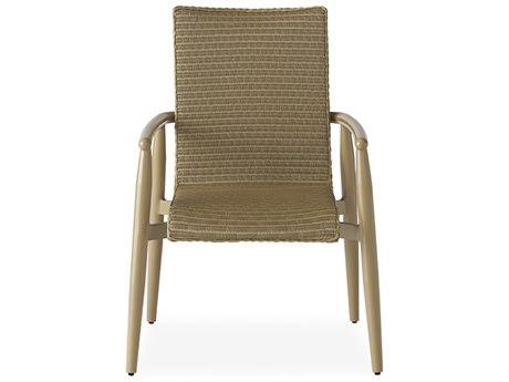 Lloyd Flanders Fairview Wicker Dining Arm Chair