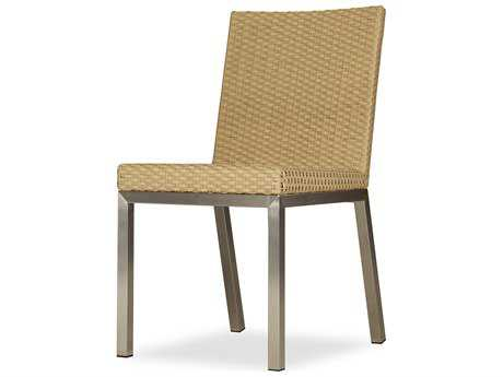 Lloyd Flanders Elements Steel Wicker Side Dining Chair