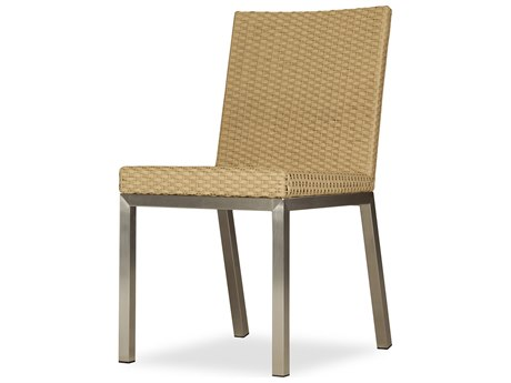 Elements Steel Wicker Dining Side Chair