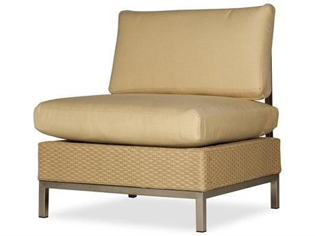 Lloyd Flanders Elements Steel Wicker Modular Lounge Chair PatioLiving