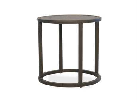 Lloyd Flanders Loft Essentials Steel 20'' Round End Table